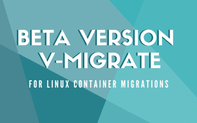 Demo on V-Migrate for Linux Container Migrations