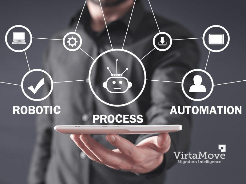 VirtaMove and Robotic Process Automation (RPA)